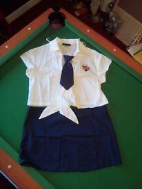 Ann summers head girl uniform - halloween