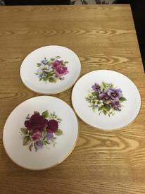 China plates. £5 or nearest offer