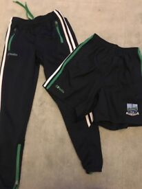 Boys fermanagh trackbottoms and shorts 9-10 new