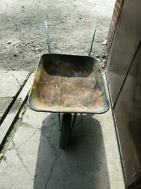 Wheelbarrow for the garden