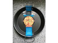 Kitchen Craft World of Flavours Mediterranean Non-Stick 32cm Paella Pan