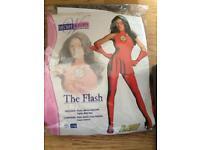 Woman fancy dress The flash