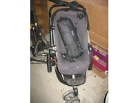 Quinny buggy & pram with accesories