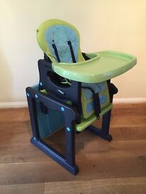 High chair - Jane Activa Evo, multifunction 3 in 1 high chair, junior chair and table