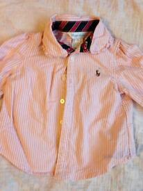 Girls Ralph Lauren Shirt 9 months