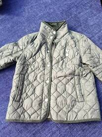 Spurs boys quilted jacket,