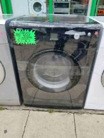 BEKO BLACK 8KG LOAD 1200SPIN WASHING MACHINE