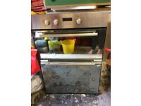 Hotpoint Double Built in Oven with Grill