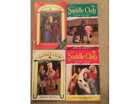 The Saddle Club books by Bonnie Bryant