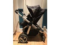 Black iCandy Apple pushchair in great condition.