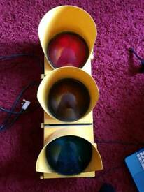 Traffic light New York style real