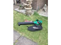 Qualcast leaf blower vacumn brand new ex display