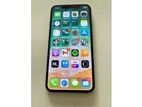 IPhone X 256Gb silver, unlocked to all networks