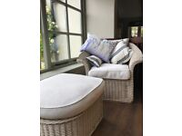 Marston and Langinger Wicker Conservatory Furniture