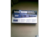 LEXICON MX300 STEREO REVERB WITH USB. RACK MOUNT