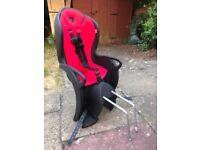 2x Hamax kids bike seats - hardly used!