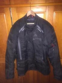 Textile bike jacket