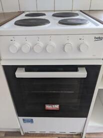 BEKO KS530W Freestanding Electric 50cm White Single Cooker Oven
