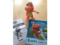 Dinosaur Train InterAction interactive Buddy T-Rex & story book