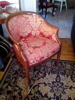 pair of vintage tub chairs from royal York hotel