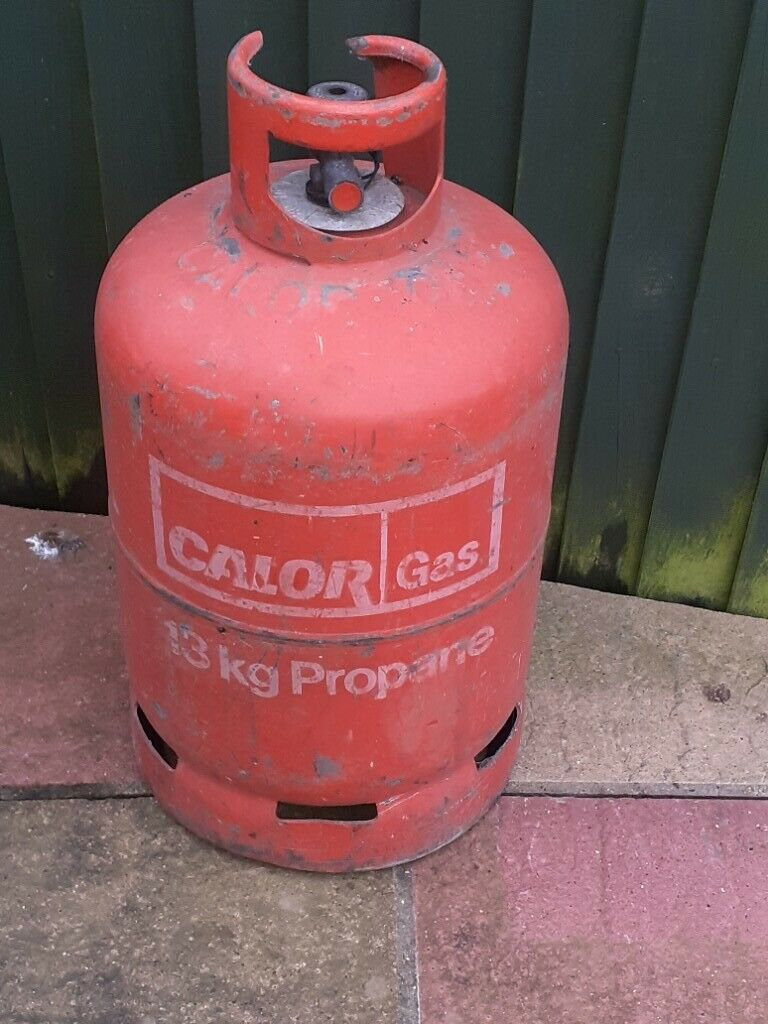 Calor Propane Empty 13kg Surplus To Requirements In