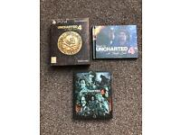 Uncharted 4 steel book edition