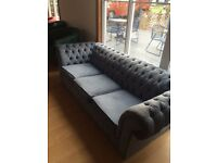 CHESTERFIELD settee.