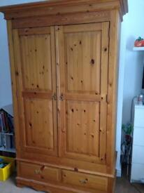 Solid Pine Wardrobe and large chest of drawers