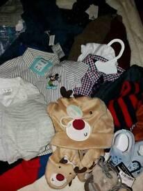 Large bundle boys clothes bnwt 6-18 months