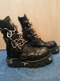 New Rock Boots unisex 6