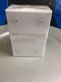 Emporio Armani diamonds woman's un-opened
