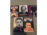 5 gangster books in good condition all by Kate kray.