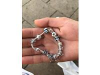 bracelet pandora with 10 charms