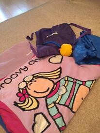 Girls bed in a bag