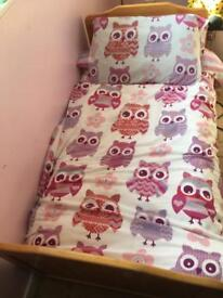 Pine 5ft Toddler Bed