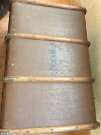 old travel trunk. Not in brilliant condition hence price. Damage to