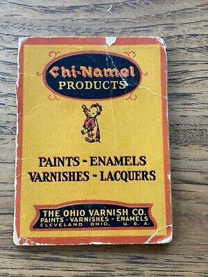 Vintage Chi-Namel Products Paint Enamel Varnish Needle Case Ad Cleveland Ohio