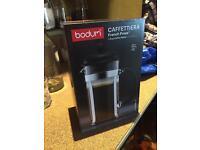 Brand new bodum cafetière