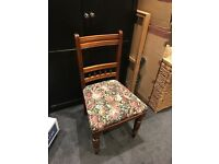 6 Early 20th C Methodist Oak Dining Chairs