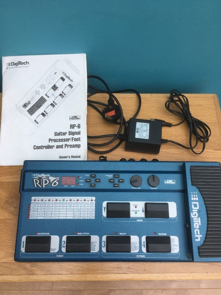 Digitech RP6 Foot Pedal Processor ** ONLY £40 * | in Wallasey ...
