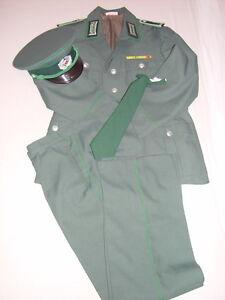 DDR VP Vopo Volkspolizei Uniform Wachtmeister, Jacke m52-1 Hose m52 ungetragen