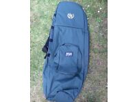 Padded golf travel bag