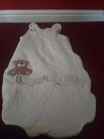 Mothercare 2.5tog sleeping bag 0-6 months