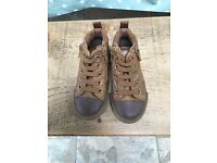 Next tan trainers size 7