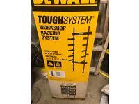 Dewalt Toughsystem Workshop Racking System.