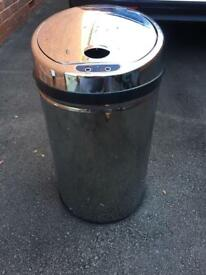 Morphy Richards Round Sensor Bin, 42 L - Stainless Steel