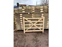 Field gates 5 bar all sizes + posts and all fittings