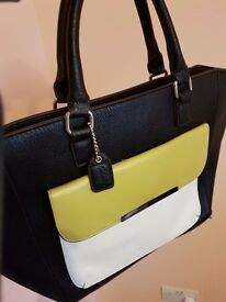 Leather bag by Clarks