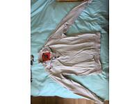 Luke Grey sweatshirt/top Large