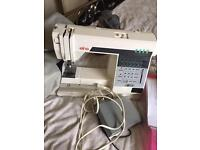 Elna Club computerised embroidered electric sewing machine with manual no offers